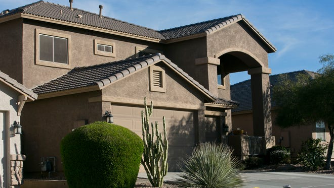 The Arizona home of former Mount Vernon fire Lt. Frank Coschigano, who was convicted of embezzling $150,000 from the firefighters union.