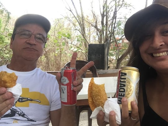 Dr. Ivan Figueroa and his daughter Rose Figueroa spend