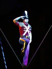 Cirque Dreams Holidaze is Saturday at Thalia Mara Hall.