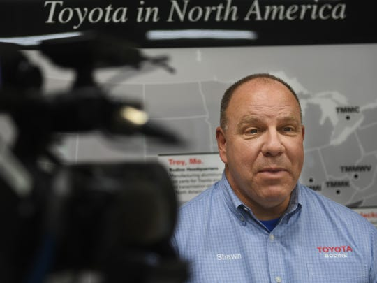 Shawn Daly, General Manager of Toyota Bodine Aluminum,
