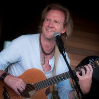 English folk songwriter Rupert Wates in concert at Lost Moth Gallery