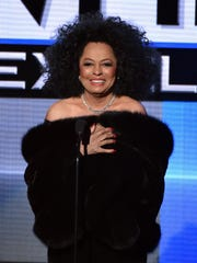 LOS ANGELES, CA - NOVEMBER 23:  Recording artist Diana Ross speaks onstage at the 2014 American Music Awards at Nokia Theatre L.A. Live on November 23, 2014 in Los Angeles, California.  (Photo by Kevin Winter/Getty Images)