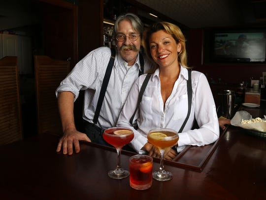 Owners Heather Racioppi and Robb McMahon of Murphy's Tavern in Rumson.