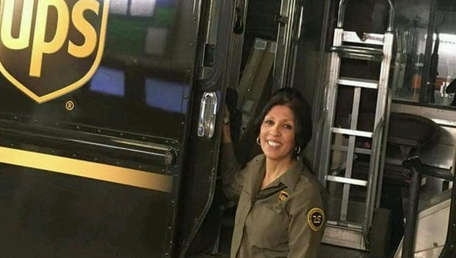 """UPS Circle of Honor recipient Beatrice """"Bea"""" Sturtz retires after 29 years of driving for the company Monday."""