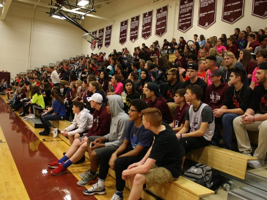About 800 people attended this year's annual Athletes
