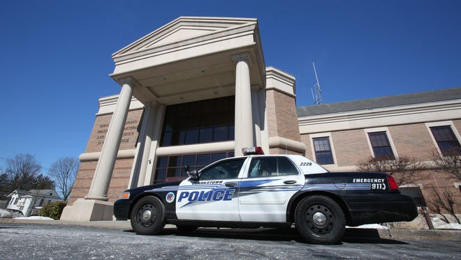 Clarkstown police headquarters in New City.