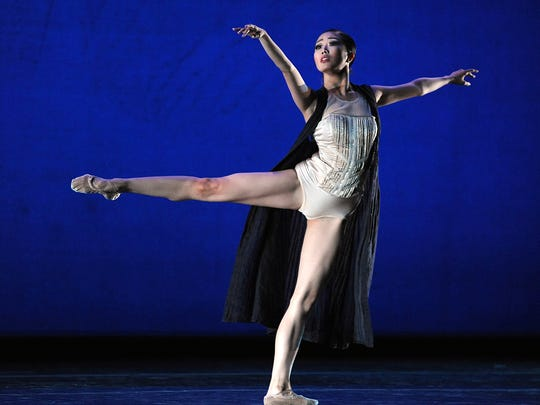 Shiori Kase of Japan performs during the 2014 IBC Encore Gala in Jackson.