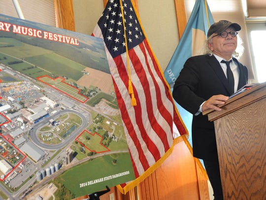 Alex Pires, of Highway One, announces that the Delaware State Fairgrounds in Harrington has been selected as the location for the three-day Delaware Junction Country Music Festival.