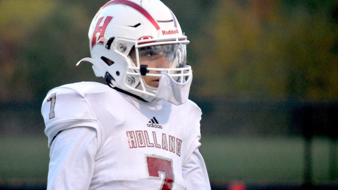 The Holland High School football team will host Wyoming on Friday.