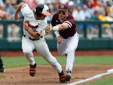 Mississippi State vs. Oregon State in College World Series