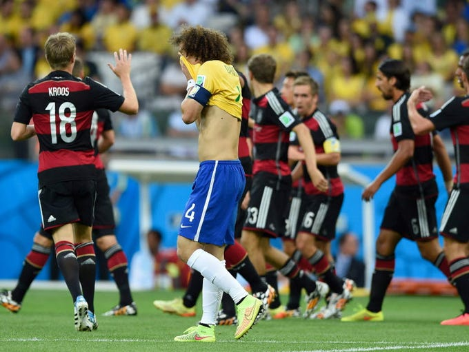 2014: Brazil humiliated on home soil - Brazil's David