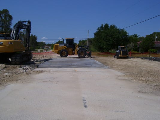 Photo No. Pictured here is the newly completed Parkdale Culvert Replacement .JPG