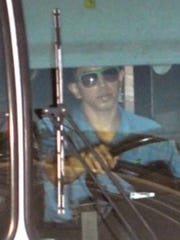 Accused serial killer Aaron Saucedo of Phoenix, then 20 years old, was captured in 2015 on a red-light camera as he drove a public bus in Phoenix.