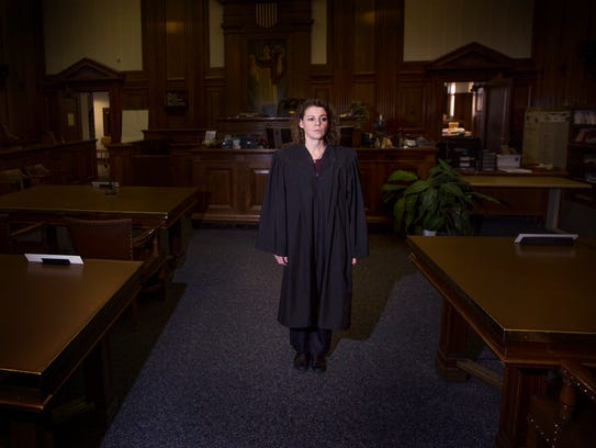 Milwaukee Circuit Court Judge Rebecca Dallet says she hopes today's young girls won't have their own #MeToo stories of pervasive sexual misconduct when they are adults.