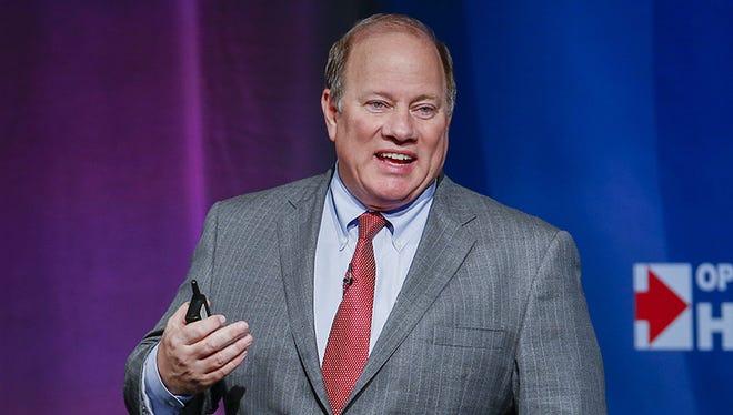 Mike Duggan, mayor of Detroit.