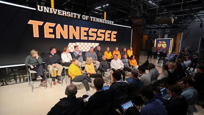 University of Tennessee athletic coaches addressed the media Tuesday in Knoxville.