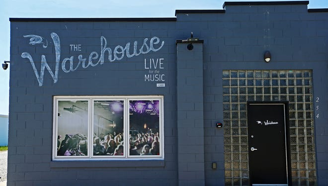 The Warehouse music venue opened in 2014.