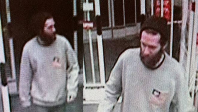 Chesterfield Twp. police are looking for this man in connection with the theft of energy drinks.