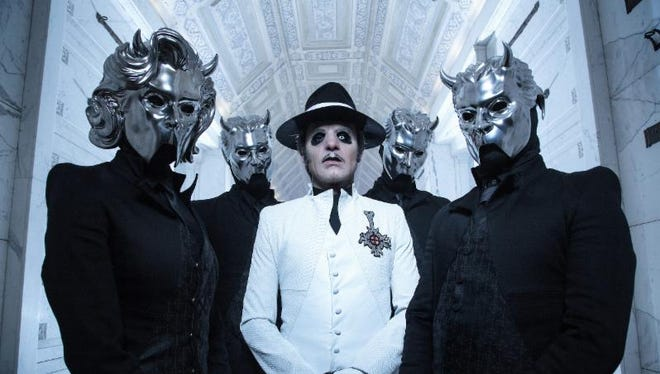 Theatrical Swedish hard rock band Ghost is coming back to Milwaukee on Halloween to finish a concert that was cut short after fan Jeff Fortune collapsed and died that night. The band will sell an exclusive shirt for the show with all proceeds benefitting Fortune's family.