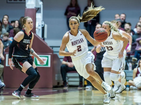 """Coach Schweyen said that Sophia Stiles was  """"Huge, absolutely huge,""""  down the stretch. """"To see her step up like that, that's never easy."""""""