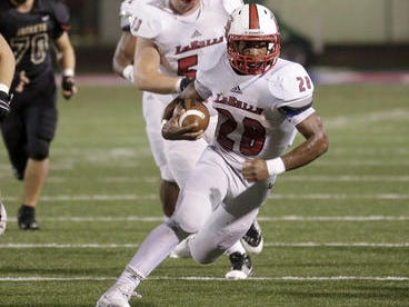 La Salle RB Jeremy Larkin was named the AP Division II state co-offensive player of the year.