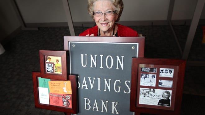 Joyce Sisson will retire this year after working at First Premier Bank for 55 years.