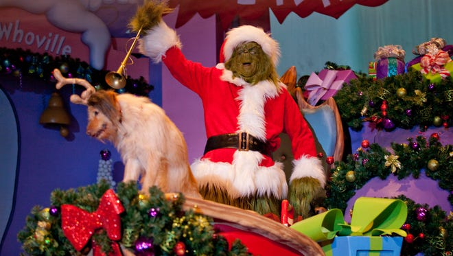 Could it be Christmas without a Grinch?
