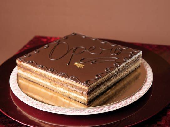 Opera espresso cake from SOOK in Ridgewood, NJ. For