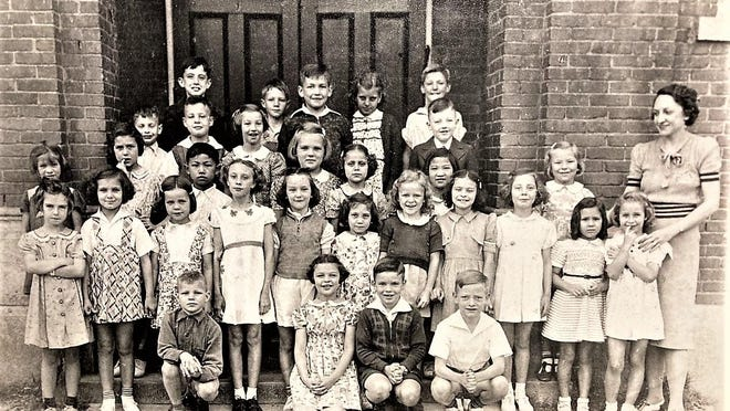 This old school photo from 1939 shows the second grade class of Ruth Miller at Woodlawn School, then on 15th Street in Augusta. Miller, who would teach at the school until it closed in 1964, died in in 1977.