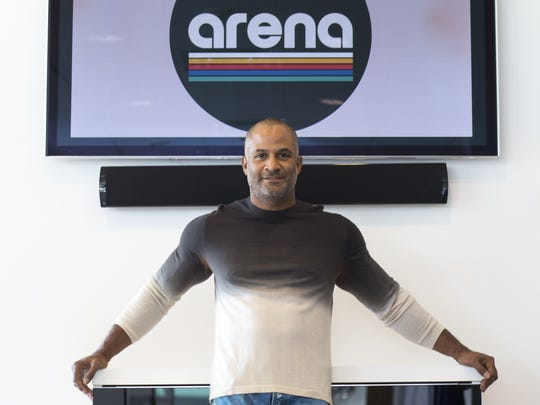 Damon Evans said his goal for Arena Music is to offer musicians and artists an opportunity to earn a fair living doing what they love by allowing them to earn higher royalties than popular streaming sites like Spotify and Apple Music.