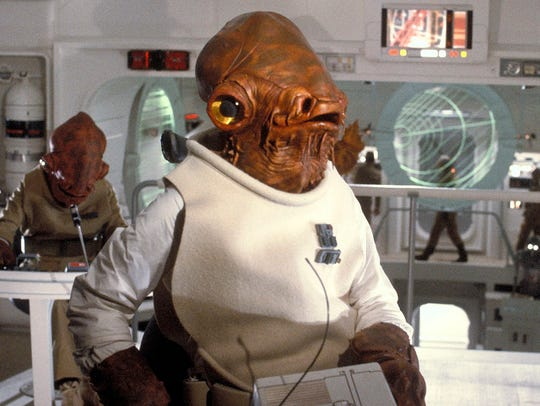 Admiral Ackbar led Rebel forces in an attack on the