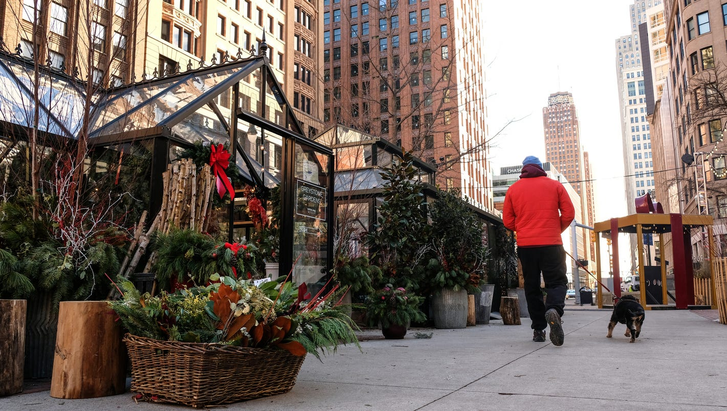 Customers swarmed downtown Detroit's holiday pop-up shops this year
