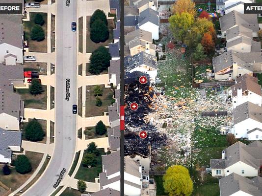 Richmond Hills explosion