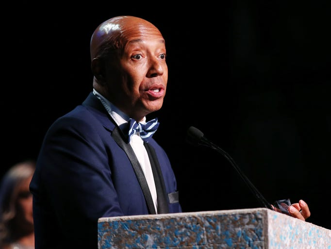 Russell Simmons is stepping down from his various businesses