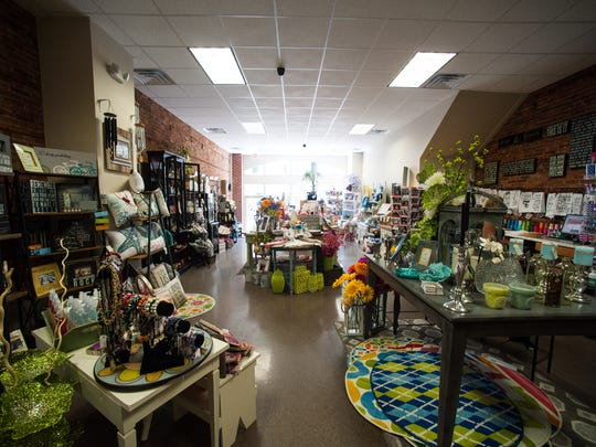 Angello's Unique Gifts is one of downtown Salisbury's newest businesses.