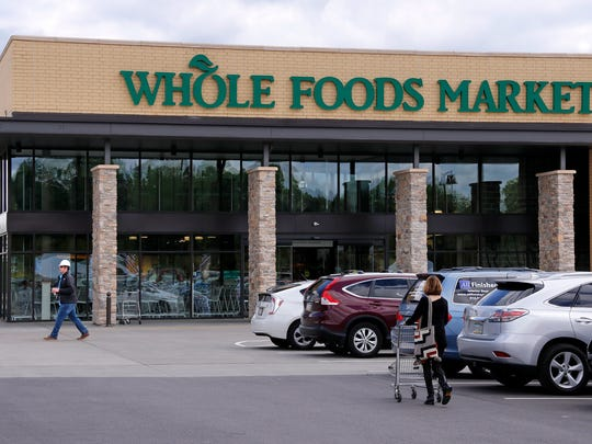 A Whole Foods Market grocery store