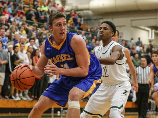 Carmel's Preston Flamion will hope to lead the Greyhounds out of Sectional 8.
