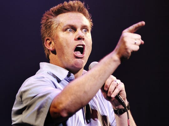Comerica Theatre hosts Brian Regan on New Year's Eve.