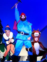 """A recent publicity photo from """"Rudolph the Red-Nosed Reindeer: The Musical,"""" which comes to Springfield for a two-show run Dec. 3, 2017."""