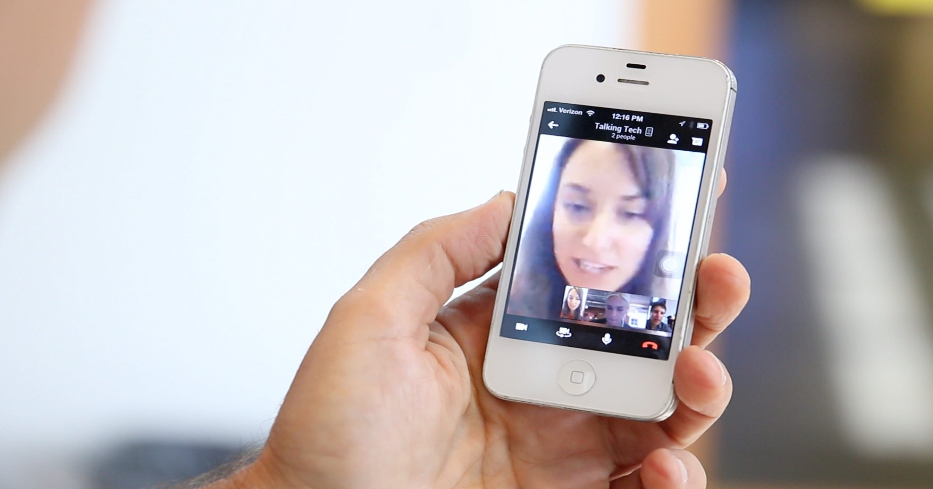 Google + Hangout app fun for group video chats