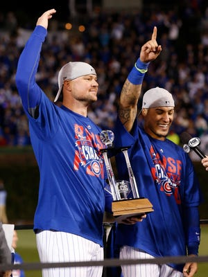 Cubs ace Jon Lester and second baseman Javier Baez are the co-MVPs for the NL Championship Series.