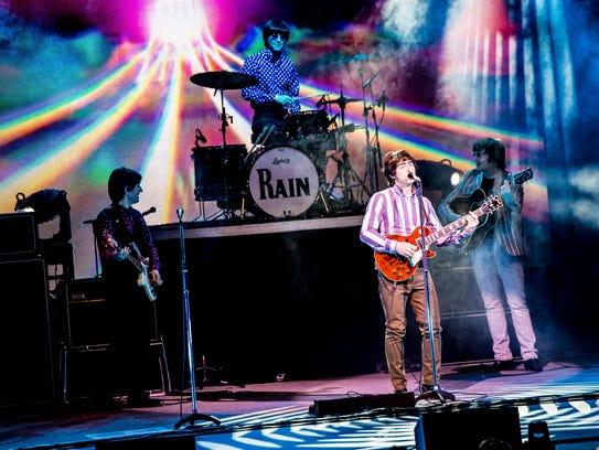 """Rain"" covers the Beatles' career through their breakup"
