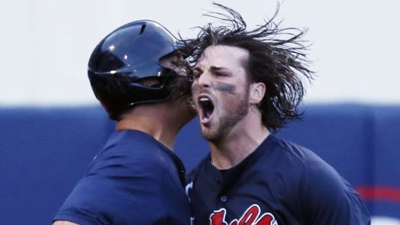 The NCAA tested Ole Miss' bats and a few didn't pass, including catcher Will Allen.