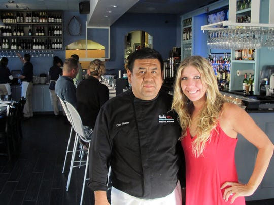 Chef Hector Hidalgo and General Manager Emily Dall at the new Naples Coastal Kitchen restaurant on U.S. 41 in North Naples.