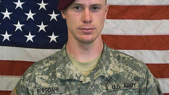 Army Sgt. Bowe Bergdahl is seen here in a photo distributed for media use by the U.S. Army.