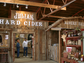 "Belly up to the bar in Julian Hard Ciders' rustic ""miners saloon."""