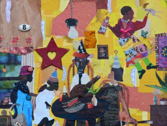 """Tonya's Birthday Party"" (2013) by Milwaukee artist"