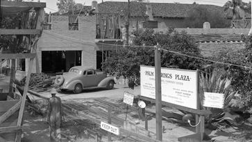 Palm Springs' La Plaza thought to be first shopping center in California