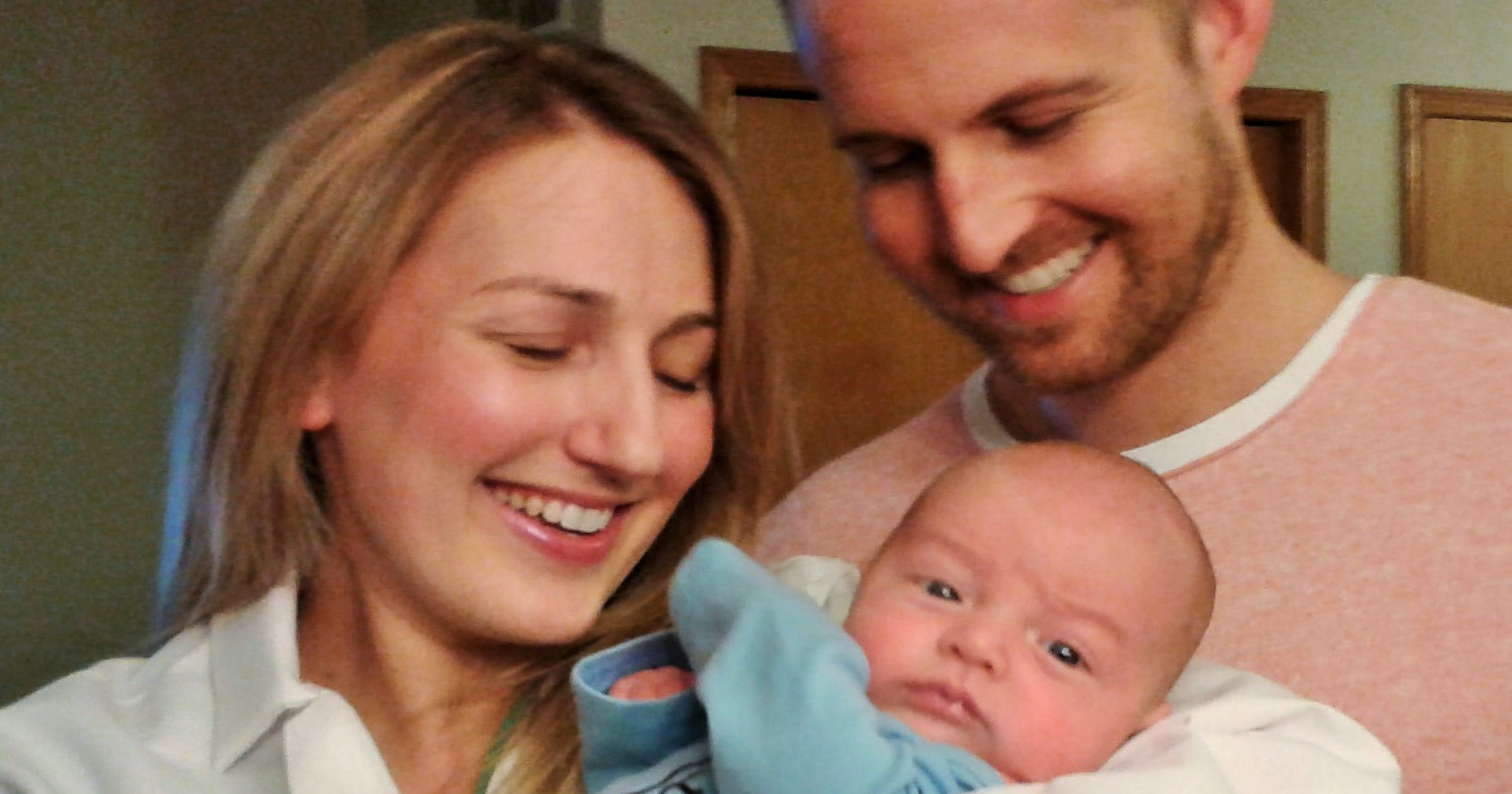 Baby-delivering doc makes a quick switch to patient, then mom