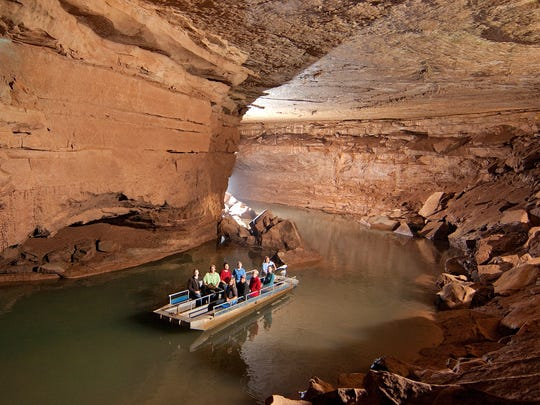 Lost River Cave boat tour.